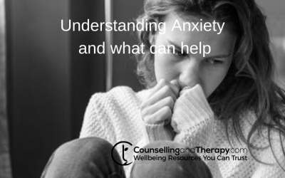 Understanding Anxiety and what can help