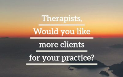 List for Free on our Find a Therapist Page