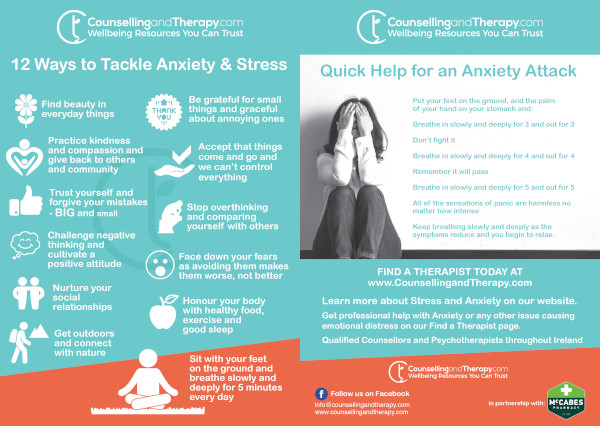 Anxiety and Stress Leaflet